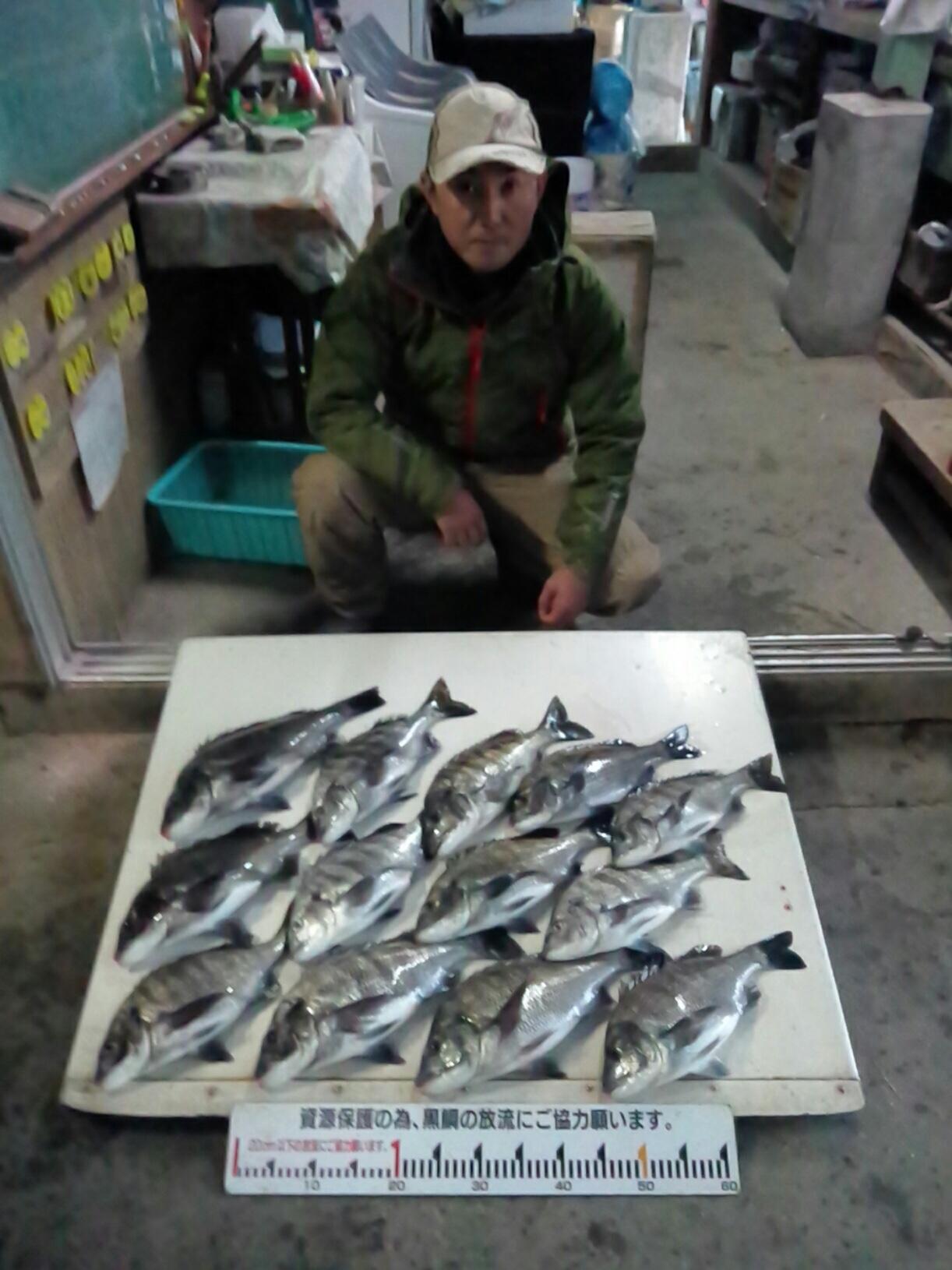 午後から40㎝級の大物続々と釣れる‼️サムネイル